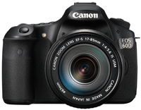 Canon EOS 60D EF-S 17-85 IS Kit fotocamere SLR 18MP CMOS 5184 x 3456Pixel Nero