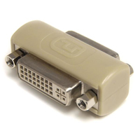 StarTech.com DVI-I Female to DVI-I Female Adapter Nero cavo di interfaccia e adattatore