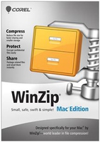 Corel WinZip Mac Edition, 2-9u, 1Y, MNT