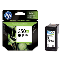 HP 350XL Black Inkjet Print Cartridge Nero cartuccia d