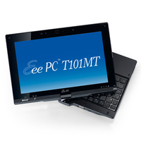 "ASUS Eee PC T101MT-BLK097M 1.66GHz N570 10.1"" 1024 x 600Pixel Touch screen Nero Ibrido (2 in 1)"