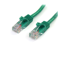 StarTech.com 6 ft Green Snagless Category 5e (350 MHz) UTP Patch Cable 1.83m Verde cavo di rete