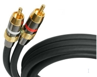 StarTech.com 25 ft Premium RCA Audio Cable (Special Order) 7.62m Nero cavo audio