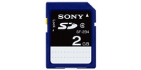 Sony SF-2B4 2GB SD memoria flash