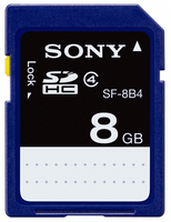 Sony SF-8B4 8GB SDHC memoria flash
