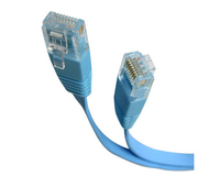 StarTech.com 10 ft Blue Flat Category 5e (350 MHz) UTP Patch Cable 3.05m Blu cavo di rete