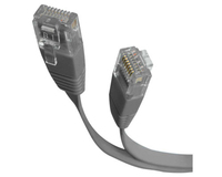 StarTech.com 10 ft Gray Flat Category 5e (350 MHz) UTP Patch Cable 3.05m Grigio cavo di rete