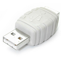 StarTech.com Adapter USB A Male to USB B Female Bianco cavo di interfaccia e adattatore