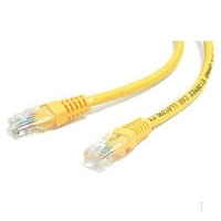 StarTech.com 25 ft Yellow Molded Category 5e (350 MHz) UTP Patch Cable 7.62m Giallo cavo di rete