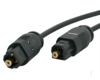 StarTech.com 6 ft Thin Toslink Digital Audio Cable 1.83m Nero cavo audio