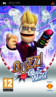 Sony Buzz!: Quiz World PlayStation Portatile (PSP) Tedesca videogioco