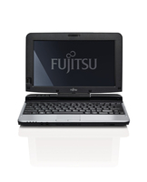 "Fujitsu LIFEBOOK T580 1.33GHz i3-380UM 10.1"" 1366 x 768Pixel Touch screen 3G Nero, Argento Ibrido (2 in 1)"