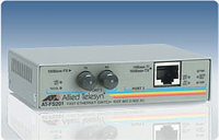 Allied Telesis 2 Port Fast Ethernet Speed/Media Converting Switch 100Mbit/s convertitore multimediale di rete