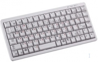 Cherry Compact keyboard PS/2 Light Grey, (US) PS/2 Grigio tastiera