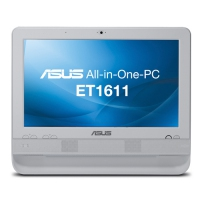 "ASUS ET ET1611PUT-W0020 1.8GHz D425 15.6"" 1366 x 768Pixel Touch screen Bianco All-in-One PC"