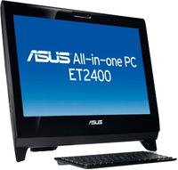 "ASUS ET EeeTop PC ET2400INT-B175E 3.066GHz i3-540 23"" 1920 x 1080Pixel Touch screen Nero"
