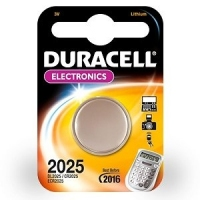 Duracell CR2025 Cell Battery Ioni di Litio 3V batteria ricaricabile