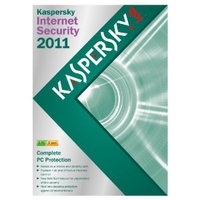 Kaspersky Lab Internet Security 2011, 3u, 1y, UPG 3utente(i) 1anno/i