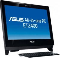 "ASUS ET EeeTop PC ET2400INT-B013E 3.2GHz i5-650 23"" 1920 x 1080Pixel Touch screen Nero"