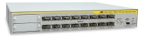 Allied Telesis 10/100FX x 16 ports Fast Ethernet Layer 3 switch Gestito L3 Bianco