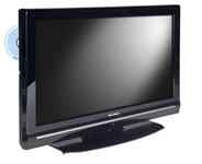 "Salora LCD1931DVX 19"" HD Nero TV LCD"