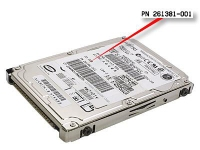 HP SP/CQ HDD 30GB EVO N800C 30GB disco rigido interno