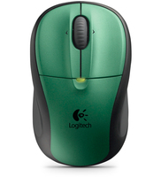 Logitech M305 RF Wireless Ottico 1000DPI Verde mouse
