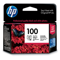 HP 100 Gray Photo Original Ink Cartridge cartuccia d
