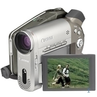 Canon DC20 camera DVD 2.2MP CCD