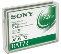 Sony DATA CARTRIDGE DAT72 36 72GB