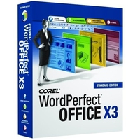 Corel WordPerfect Office X3, CD, Win32, DE Tedesca