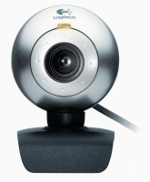Logitech QuickCam Connect 1.3MP 640 x 480Pixel Nero, Argento webcam