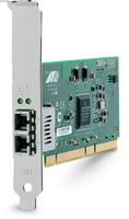 Allied Telesis 1000SX (LC) desktop fiber Gigabit Network Interface Card (PCI-X) 1000Mbit/s scheda di rete e adattatore