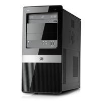 HP Pro 3130 Minitower PC 3.2GHz i3-550 Mini Tower Nero PC