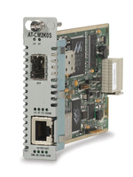 Allied Telesis 10/100/1000T to 1000X SFP Converteon Line Card convertitore multimediale di rete