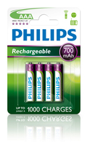 Philips Rechargeables Batteria R03B4A70/10