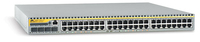 Allied Telesis 48-port 10/100TX managed FE L3 Switch w/ 4x SFP exp. bays Gestito L3 Argento