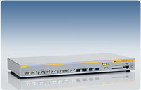 Allied Telesis 1000SX/LC x 8 ports managed Gigabit Ethernet switch w/ 4 SFP bays Gestito L2