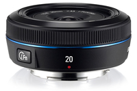 Samsung 20mm F2.8 i-Function MILC Wide lens Nero