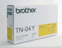 Brother TN04Y Yellow Toner Cartridge 6600pagine Giallo