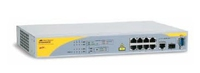 Allied Telesis 8 port 10/100TX Layer 2 Managed PoE Switch Gestito Supporto Power over Ethernet (PoE)