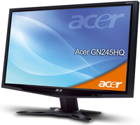 "Acer GN245HQbid 23.6"" Full HD Nero monitor piatto per PC"