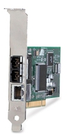 Allied Telesis 10/100TX & 100FX mixed copper/fiber desktop PCI NIC, (MT) 100Mbit/s scheda di rete e adattatore