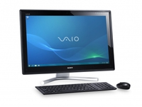 "Sony VAIO VPCL21S1E 2GHz i7-2630QM 24"" 1920 x 1080Pixel Touch screen Nero PC All-in-one"