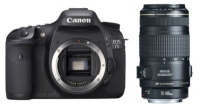 Canon EOS 7D + EF 70-300m Kit fotocamere SLR 18MP CMOS 5184 x 3456Pixel Nero