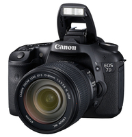 Canon EOS 7D + 580EX II Kit fotocamere SLR 18MP CMOS 5184 x 3456Pixel Nero
