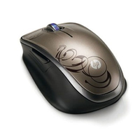 HP Wireless Laser Comfort Mouse RF Wireless Laser Nero mouse