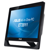 "ASUS EeeTop PC ET2011AUTB-B002E 1.6GHz E-350 20"" 1600 x 900Pixel Touch screen Nero PC All-in-one"