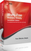 Trend Micro Worry-Free Business Security 7 Adv, 251-1000u, 1Y, Win, LCS, FRE
