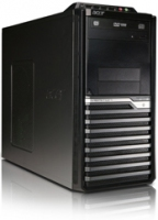 Acer Veriton VM490G-SI3550W 3.2GHz i3-550 Mini Tower Nero, Argento PC